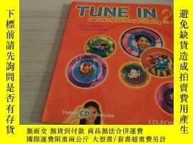 二手書博民逛書店Tune罕見In 2 Student Book With Student Cd: Learning English