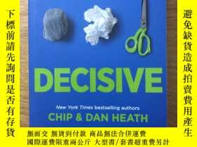 二手書博民逛書店Decisive罕見how to make better dec