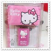 小花花日本精品♥Hello Kitty 行動電源 充電器 LED手電筒 附收納袋 7800mAh 粉 21061103