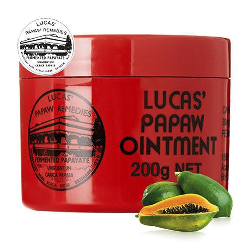 澳洲木瓜霜 Lucas Papaw Ointment 原裝進口正貨 (200g/瓶,共1入)【台安藥妝】