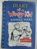 【書寶二手書T1/原文小說_GNN】Diary of a Wimpy Kid: Rodrick Rules_Kinney, Jeff