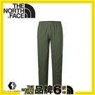【The North Face 男 FlashDry彈性長褲《軍綠》】2TZV/休閒長褲/機能性長褲/健行褲