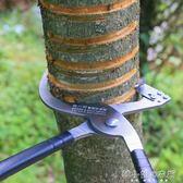 剝器棗樹蘋果樹剝皮刀割樹皮果樹環割刀環剝鉗工具可調節YXS   韓小姐