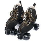 成人雙排溜冰鞋 旱冰鞋成年男女雙排輪 輪滑鞋四輪閃光旱冰鞋輪滑