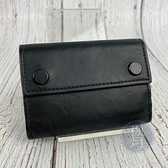 BRAND楓月 LOUIS VUITTON LV M67631 黑色 皮革 原花壓紋 三折 短夾 皮夾 錢夾 錢包
