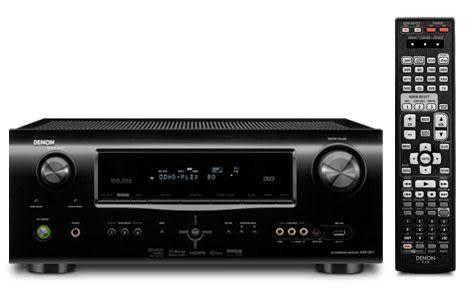 ★展示出清★DENON AVR-1911 24期0利率 7.1 3D 環繞影音擴大機 黑色