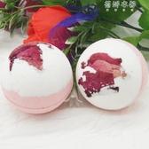(免運)多泡泡6個日本泡澡球沐浴鹽球精油幹花氣泡彈爆炸泡泡浴芭