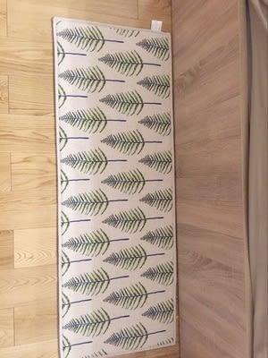 時尚創意地墊23  廚房浴室衛生間臥室床邊門廳 吸水長條防滑地毯(45cm*120cm )
