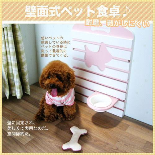*WANG*【免運】動物工學可調整食碗小餐桌(犬貓二用)