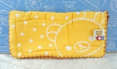 【震撼精品百貨】Rilakkuma San-X 拉拉熊懶懶熊~San-X 毛巾收納袋-黃#00365