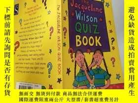 二手書博民逛書店英繪本The罕見Jacqueline Wilson Quiz Book傑 奎琳威Y200392