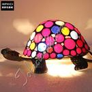 INPHIC-五彩繽紛千年烏龜手工玻璃燈罩臥室兒童房裝飾品禮物小夜燈造型燈造型夜燈_S2626C