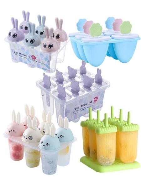20枚雪糕冰棒可愛模具冰棍冰激凌冰糕做冰淇淋棒冰的家用自制磨具