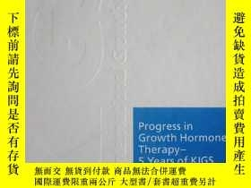 二手書博民逛書店Progress罕見in Growth Hormone Ther