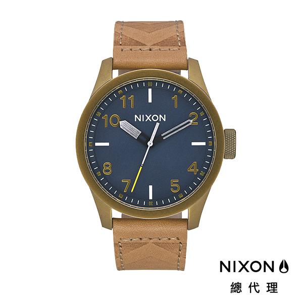 【官方旗艦店】NIXON SAFARI 時尚配色 簡潔設計 古銅藍 潮人裝備 潮人態度 禮物首選