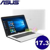 ASUS X751NV-0031BN3450 17.3吋大螢幕筆電◤刷卡◢ N3450 NV 920MX 2G獨顯(天使白)