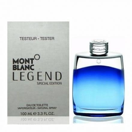 ※薇維香水美妝※MONTBLANC Legend 萬寶龍 傳奇藍調經典男性淡香水限量版100ml tester