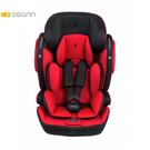 【預購8月底到貨】Osann Flux Isofix 2至12歲成長型汽車安全座椅-魔力紅