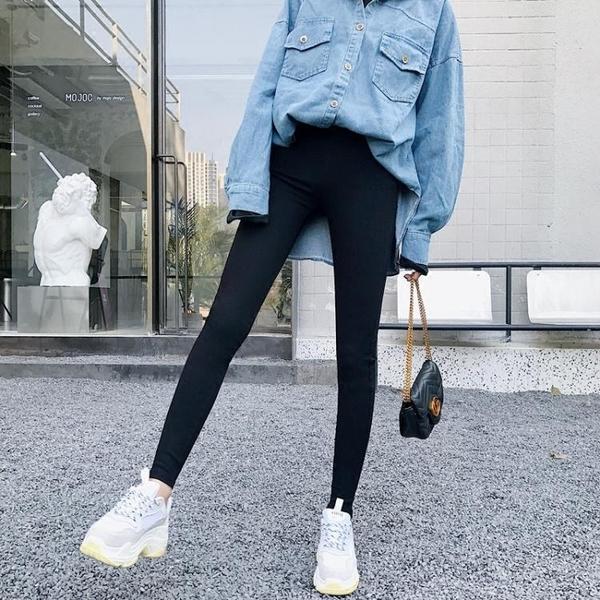 ★2018新款打底褲仿牛仔小腳褲薄款鉛筆長褲~