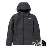 【THE NORTH FACE 美國】女 防風連帽外套『KS7 麻花黑』NF0A49B9 戶外 登山 旅行 通勤 防風 保暖
