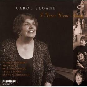 經典數位~卡蘿史隆妮 - 我從未離開 / Carol Sloane - I never went away