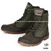 Palladium 新竹皇家 PampaSoild 軍綠色 布質 零錢包  高筒靴 男款 NO.A9325