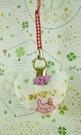 【震撼精品百貨】San-X動物家族_兔子~手機吊飾-心型-白色