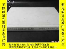 二手書博民逛書店RED罕見LETTER CHRISTIANS TONY CAMP