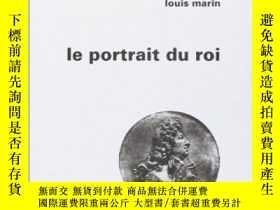 二手書博民逛書店Le罕見Portrait Du RoiY364682 Louis Marin Les Editions De