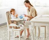 便攜式寶寶餐椅兒童餐桌椅子多功能嬰兒吃飯可折疊座椅igo
