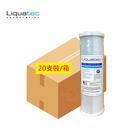 (20支)美國Liquatec NSF壓縮活性碳濾心 適用通用規格10英吋淨水器 RO逆滲透