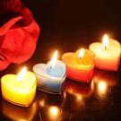 浪漫心形蠟燭 (10顆/盒) 不挑色
