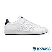 K-Swiss Court Casper S休閒運動鞋-男-白/海軍藍