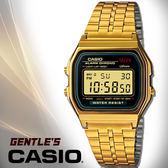 CASIO手錶專賣店 卡西歐 A159WGEA-1D 男錶 數字錶 生活防水 碼錶 復古金 LED照明 不銹鋼錶帶