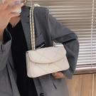 鍊條包 高級感女士菱格包包2021新款潮時尚鍊條斜挎包百搭ins網紅單肩包 歐歐