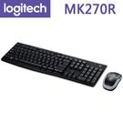 【免運費】Logitech 羅技 MK270r 無線滑鼠鍵盤組 / 八個熱鍵 / 2.4 GHz / MK270R