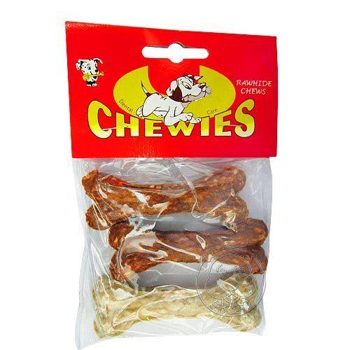 【培菓平價寵物網】 《沛貝兒CHEWUES》D-34 3吋脆皮骨(3入)*1包