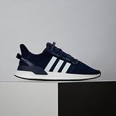 Adidas U_Path Run 男款 白藍 網布 運動 休閒鞋 G27642
