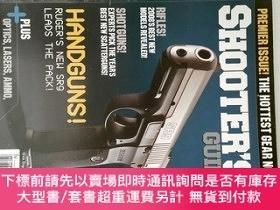 二手書博民逛書店GUN罕見DIGEST SHOOTER S 2008 01 GUIDE 英文過期槍雜誌 外文槍文摘雜誌Y146