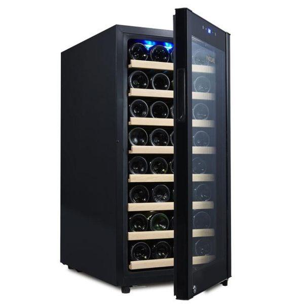 Vinocave/維諾卡夫 CWC-100A紅酒恒溫酒櫃 家用 紅酒櫃子冰箱冰吧WD    電購3C