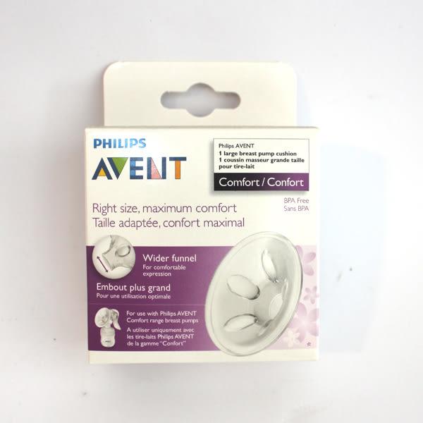 【美國代購 特價新品】AVENT新安怡輕乳感吸乳器專用 - 矽膠花瓣按摩乳墊(加大) 25mm