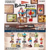 盒裝6款【日本正版】史努比 乘著熱氣球旅行去 盒玩 擺飾 氣球之旅 Snoopy Re-Ment 250779