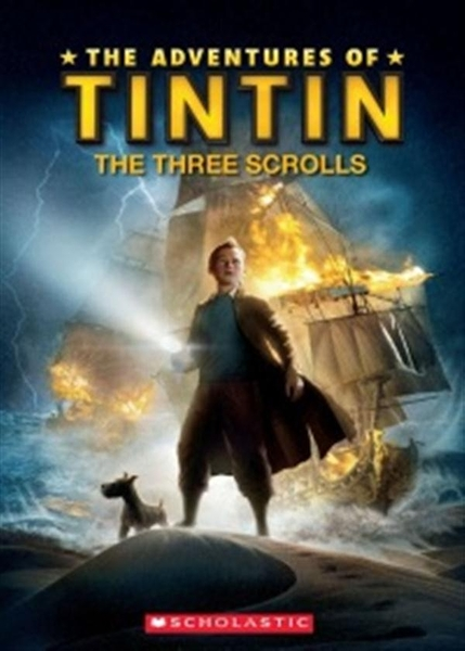 (二手書)Scholastic ELT Readers Level 1: Tintin The Three Scrolls with CD..