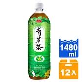 味丹 心茶道 健康青草茶 1480ml (12入)/箱【康鄰超市】