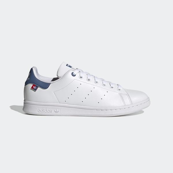 Adidas Stan Smith [FX5548] 男鞋 運動 休閒 簡約 經典 穿搭 史密斯 愛迪達 白 藍紅