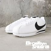 NIKE Wmns Classic Cortez Leather OG 白黑 阿甘 女 (布魯克林) 2018/10月 807471-101