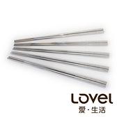 【超值5雙入】LOVEL 不銹鋼方筷(共3款)
