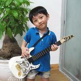 烏克麗麗 兒童吉他玩具可彈奏 仿真吉他 貝斯樂器玩具 表演道具兒童樂器YXS 夢娜麗莎精品館