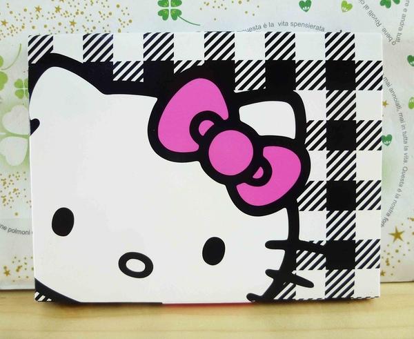 【震撼精品百貨】Hello Kitty 凱蒂貓-KITTY吸油面紙-黑白格圖案