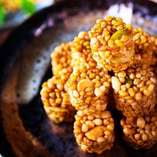 【美佐子MISAKO】中式食材系列-玉民 黃金蕎麥堅果脆丸子(蕎麥原味) 42g